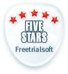 5 stars by www.freetrialsoft.com